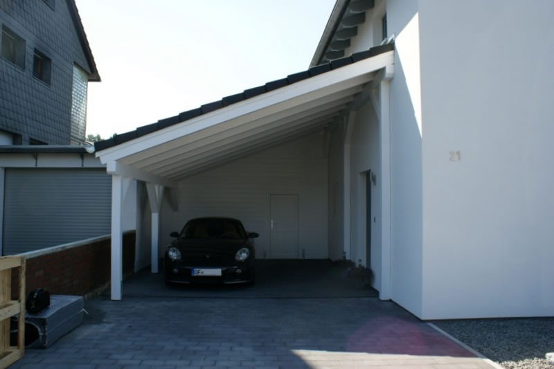 pultdach carport referenz carport in frankfurt am main. Black Bedroom Furniture Sets. Home Design Ideas