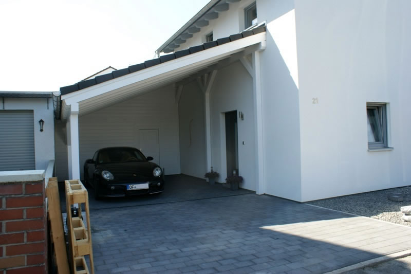 pultdach carport referenz carport in frankfurt am main. Black Bedroom Furniture Sets. Home Design Ideas